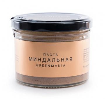 Паста GreenMania миндальная, 200 гр.