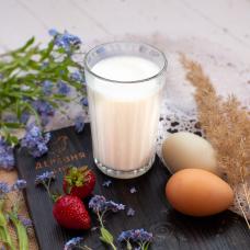 Молоко козье цельное 0,5 л.