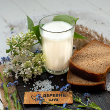Молоко коровье отборное 0,93 л.