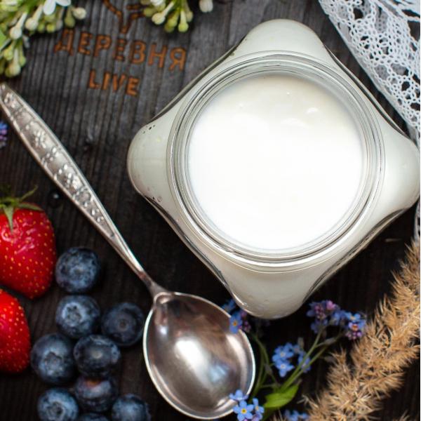 Йогурт из козьего молока, 0,3 л.