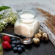 Йогурт из ОВЕЧЬЕГО молока, 0,3 л.