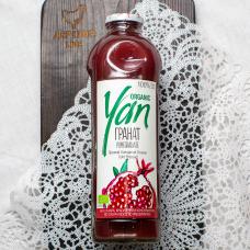 Сок гранатовый Organic YAN 930мл
