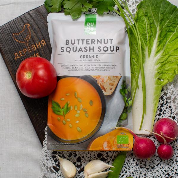 Суп-пюре Auga тыквенный со сладким картофелем органический 400 г