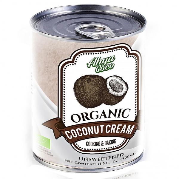 Органические кокосовые сливки AHYA, 400 мл