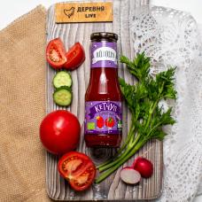 """Кетчуп """"Organic"""" томатный сладкий Rudolfs, 320 гр."""