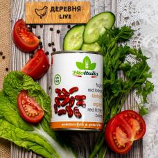 Фасоль красная консервированная ОРГАНИЧЕСКАЯ, 400 гр.