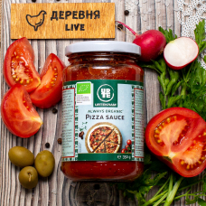 Томатный соус для пиццы ОРГАНИЧЕСКИЙ, 350 гр.