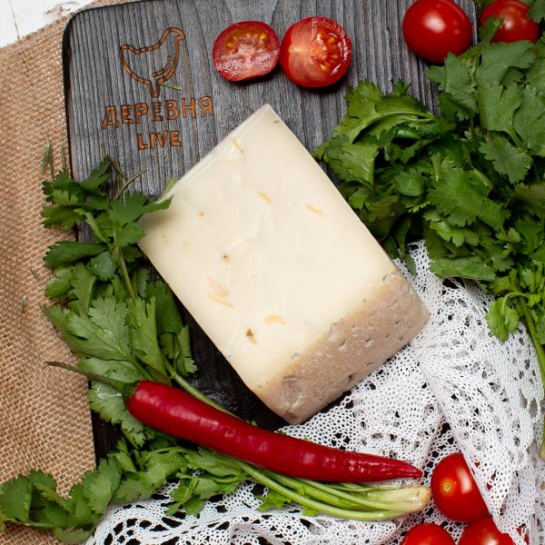 """Сыр """"Качотта""""  из КОЗЬЕГО молока , 250 гр."""