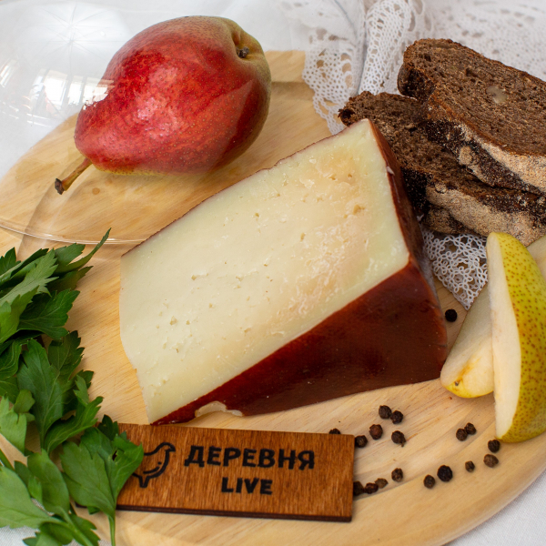 Сыр козий фермерский  ТВЕРДЫЙ, 250 гр.