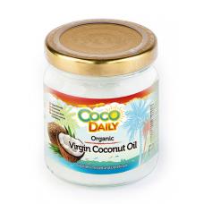Кокосовое масло CocoDaily нерафинированное холодного отжима Organic 195 мл
