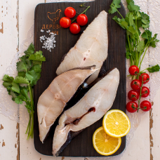 Палтус дикий стейк свежемороженый, 0,5 кг