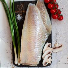 Сайда дикая филе без кожи морской заморозки, 0,7 кг.