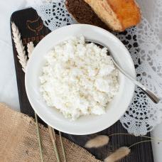 Творог из цельного козьего молока 18-22%, 250 гр.