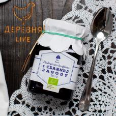 Варенье черничное ОРГАНИЧЕСКОЕ, 180 гр.