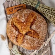 Луковый хлеб из органической муки, 500 гр.