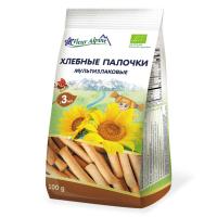 Детские мультизлаковые хлебные палочки, Fleur Alpine, 100 гр.