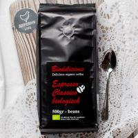 Кофе Эспрессо классический зерновой ОРГАНИЧЕСКИЙ, 500 гр.