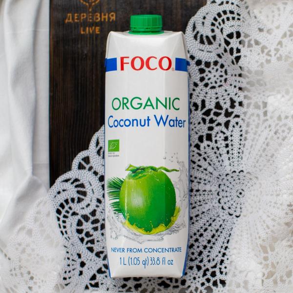 Кокосовая вода Foco ОРГАНИЧЕСКАЯ 1 л.