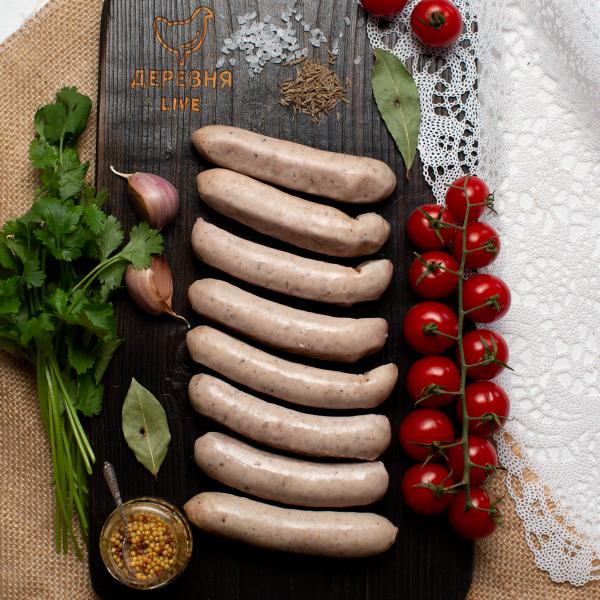 """Колбаски для жарки/гриля   """"Нюрнбергские"""", 0,3 кг."""