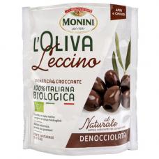 Оливки без косточки, Monini BIO, BELLA DI CERIGNOLA 150 гр.