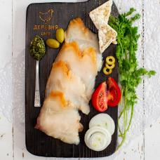 Масляная рыба ломтики холодного копчения, 200 гр.