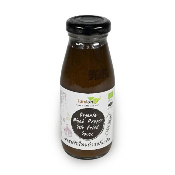 Органический соус из черного перца lum lum, 200 гр.