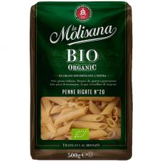 Перья рифленые из твердых сортов пшеницы BIO, LA Molisana, 500 гр.