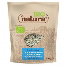 Семена подсолнечника очищенные органические NATURA BIO 300 г