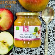 Пюре из яблок и манго ОРГАНИЧЕСКОЕ, 360 гр.