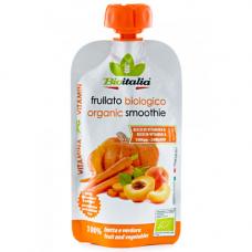 Пюре из моркови, абрикоса и тыквы (СМУЗИ) BIO, 120 гр.