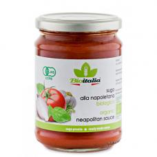 Соус томатный с луком, чесноком, базиликом и орегано BIO, 350 гр.