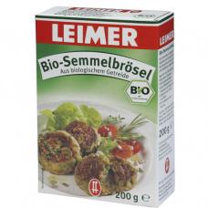 Сухари панировочные BIO, Leimer, 200 гр.