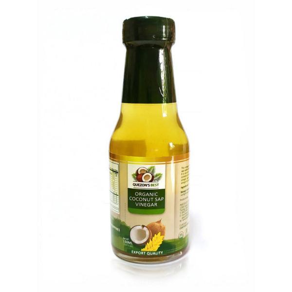 Органический кокосовый уксус 150 мл, QUEZON'S BEST
