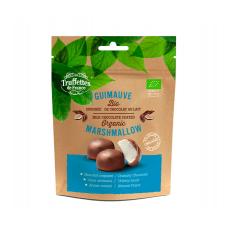 Зефир покрытый молочным шоколадом БИО, Truffettes de France, 100 гр.