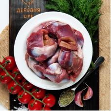 Желудки утиные БЕЗ АНТИБИОТИКОВ, 0,5 кг.