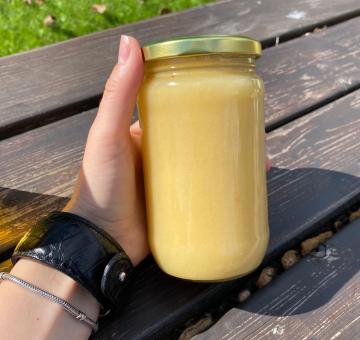 Мёд кориандровый натуральный, в стекле, 500 гр.