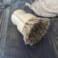 Щётка круглая для сильных загрязнений с щетиной из пальмового волокна