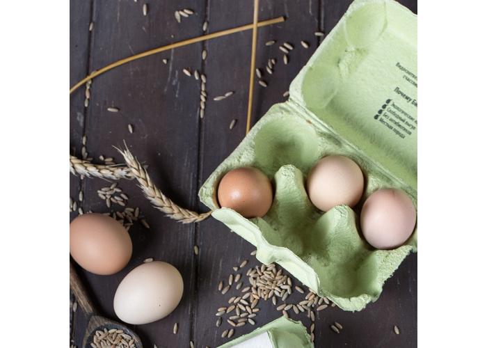 Яйца ОРГАНИЧЕСКИЕ 10 шт.