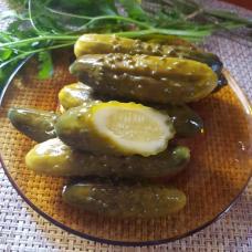 Огурцы солёные, 0,5 кг