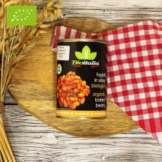 Фасоль в томатном соусе ОРГАНИЧЕСКАЯ, 400 гр.