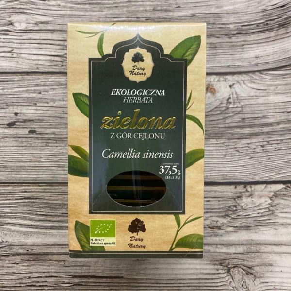 Чай зеленый цейлонский ОРГАНИЧЕСКИЙ, 25 пак.