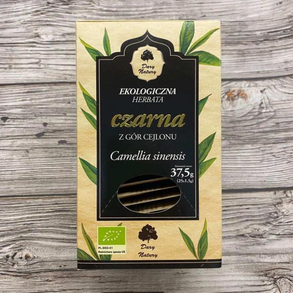 Чай черный цейлонский ОРГАНИЧЕСКИЙ, 25 пак.