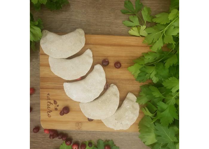 Вареники из зеленой гречки с картофелем БИО, 500 гр.
