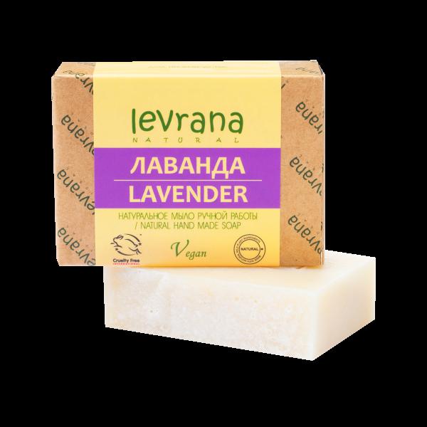 """Мыло ручной работы """"Лаванда"""" 100 гр. от Levrana"""