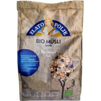 Мюсли с фруктами, медом и фундуком органические ZLATO POLJE BIO 375 г
