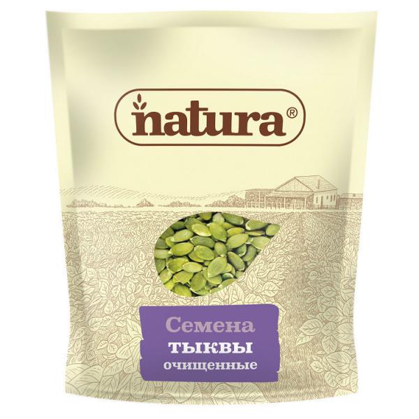 Семена тыквы очищенные NATURA 300 г