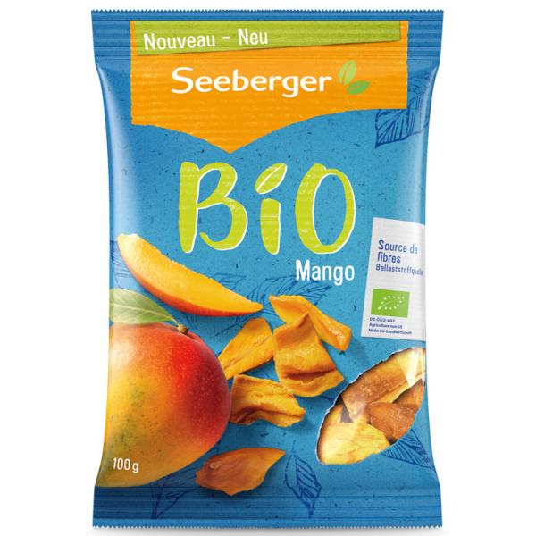 SEEBERGER BIO Манго дольками сушеный 100 гр