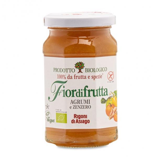 Конфитюр из цитрусовых с имбирём, Fiordifrutta, 260 г, Италия