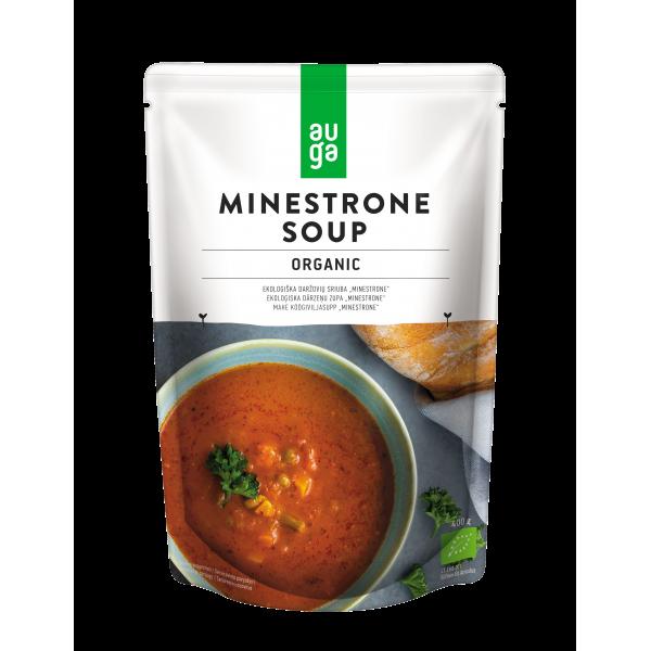Суп Минестроне органический Auga, 400 гр