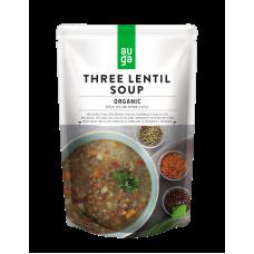Суп из трёх сортов чечевицы органический Auga 400 гр